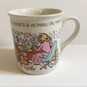 Hallmark Mug Relax There's a Woman on the Job